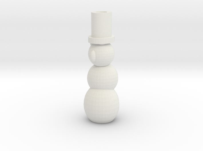 Pen Holder Snowman 3d printed