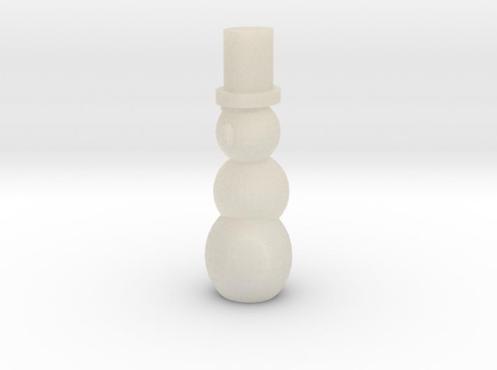 Pen Holder Snowman 3d printed