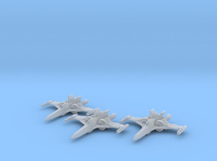 Z-95 Mk2 1-270 Wing 3d printed