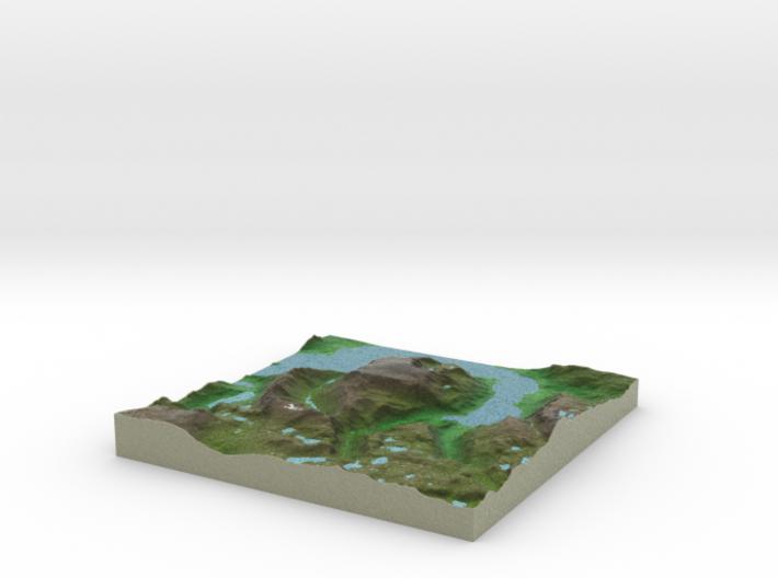 Terrafab generated model Fri Sep 27 2013 15:21:19 3d printed