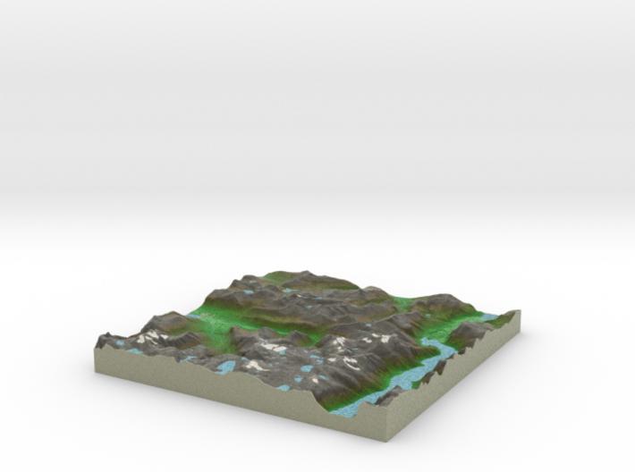 Terrafab generated model Sat Sep 28 2013 06:17:57 3d printed