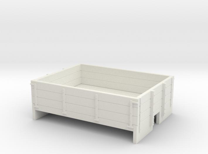 009 3 plank dropside wagon body 3d printed