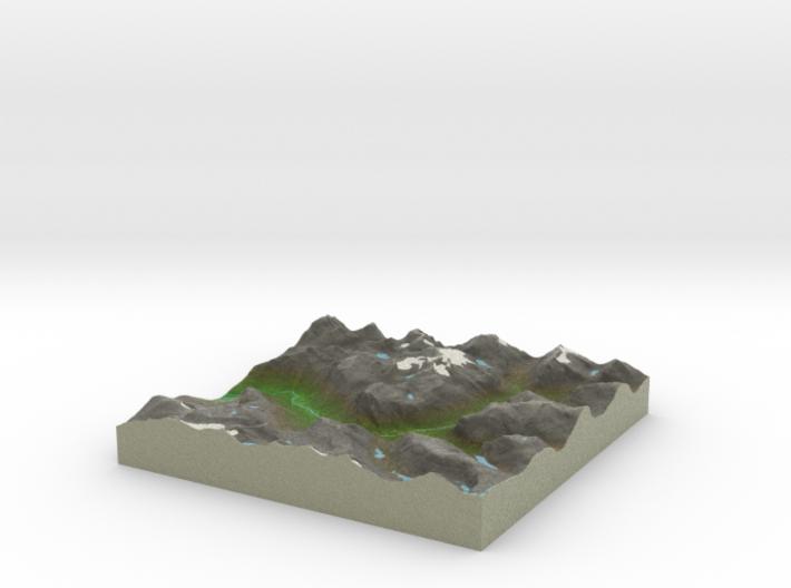 Terrafab generated model Mon Sep 30 2013 13:36:01 3d printed