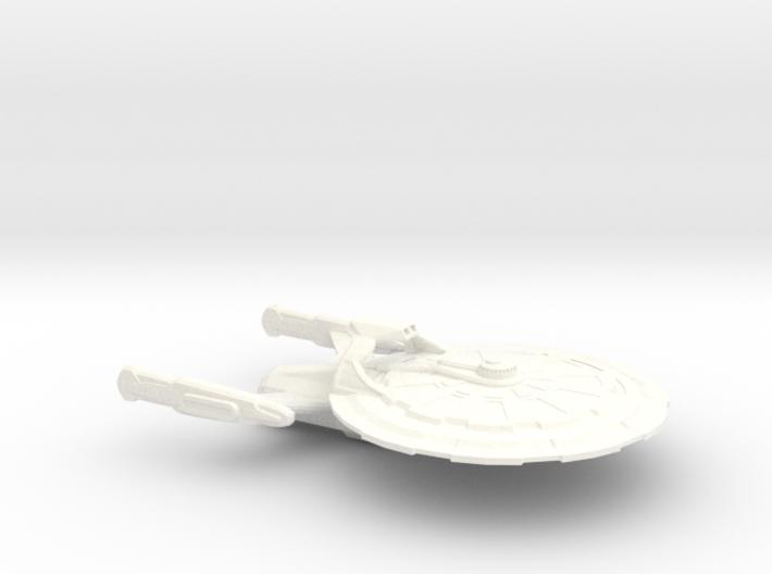 USS Vanguard Larger 3d printed