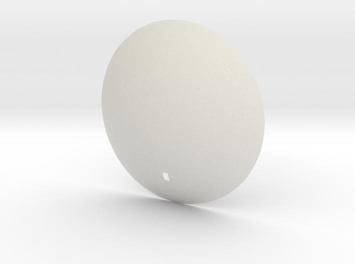 Voyager 1/20TH Dish Antenna 3d printed