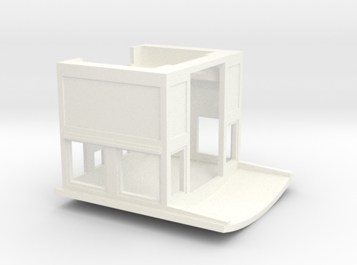 Cab for 2-8-0 DCC version 3d printed