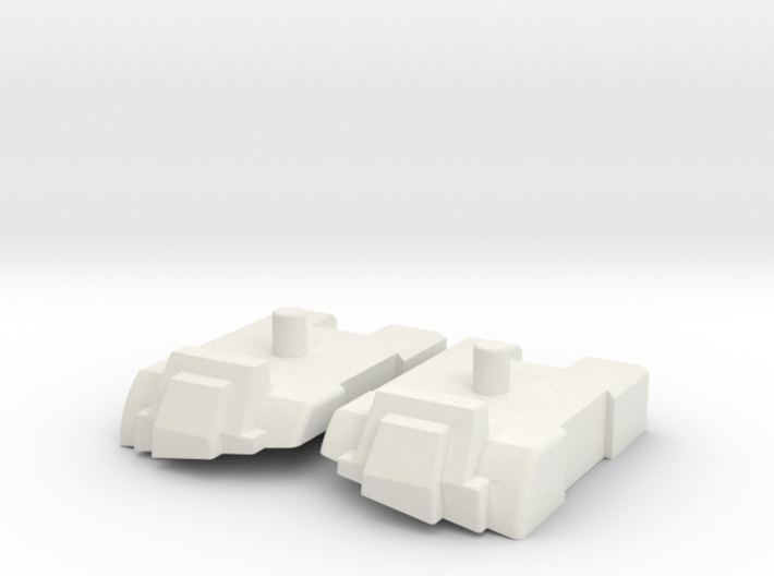 Feet set for Kabaya set 7 Superion 3d printed