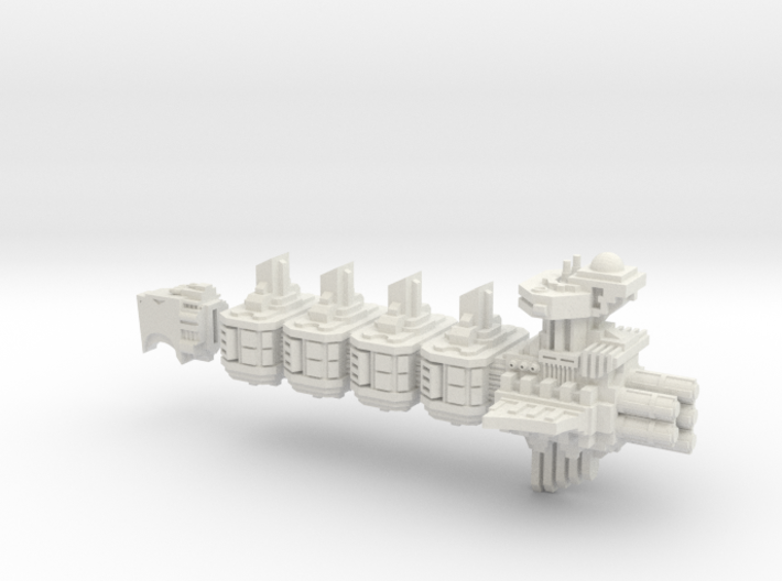 Martinet Light Cruiser (Aquila Pattern) 3d printed