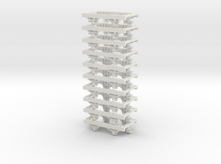 55n2 underframe short nem 3d printed