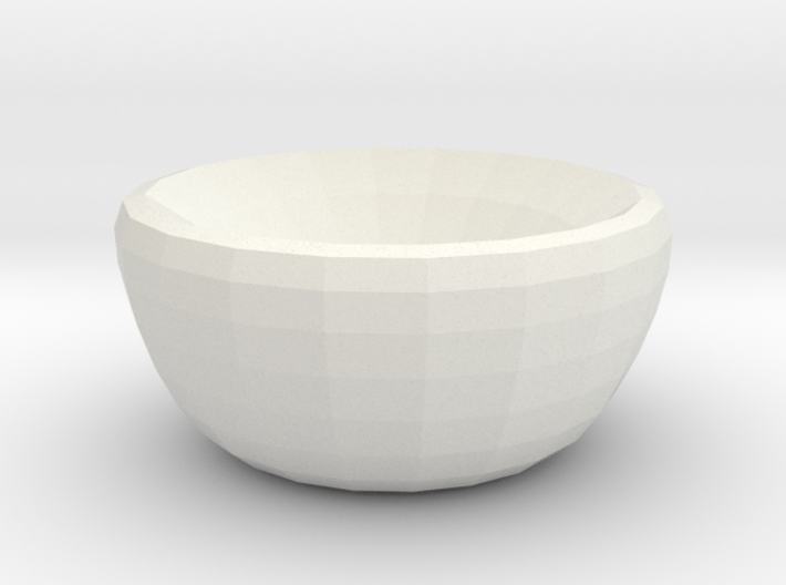 crystal dreams bowl 3d printed