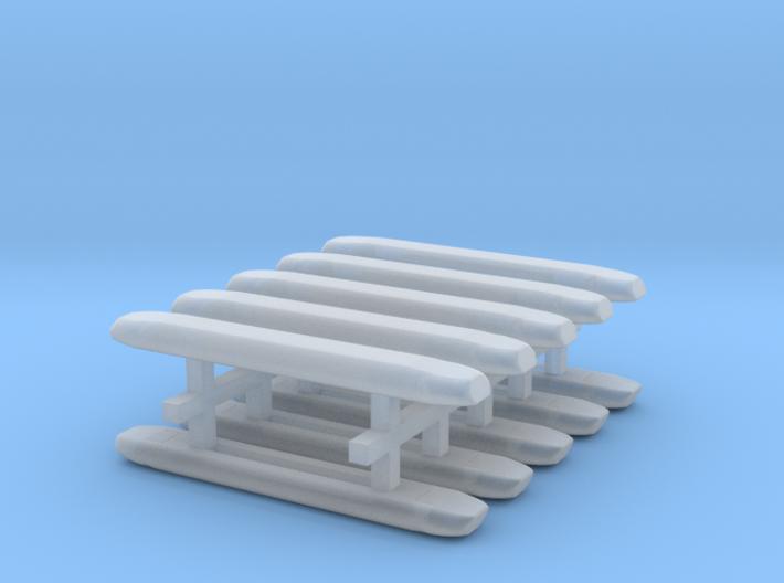 DBS 4000 10x21mm - Ecke und Balken aus einem Stück 3d printed