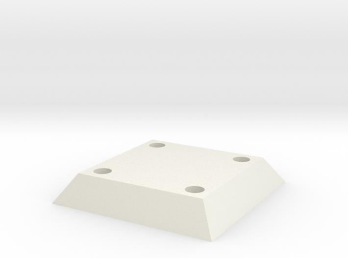 Belt Plaque 1.5 Shelled 2mm 3d printed