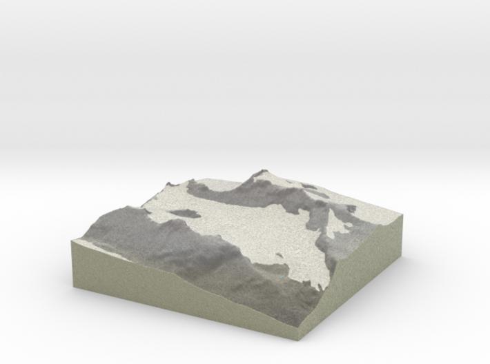 Terrafab generated model Thu Oct 17 2013 10:28:27 3d printed