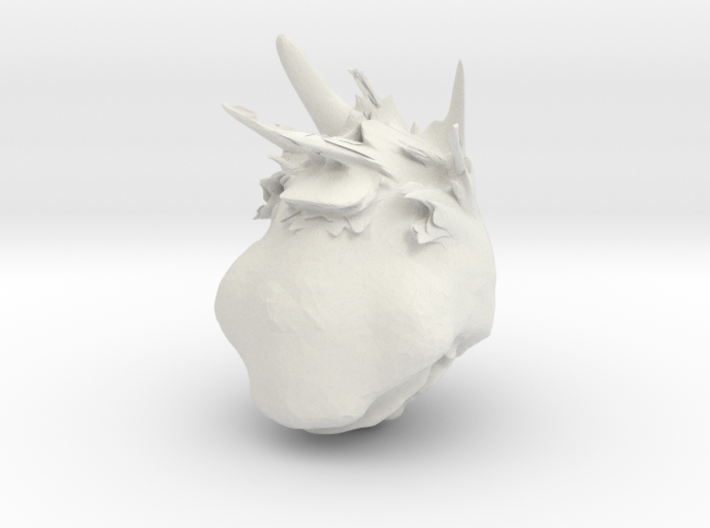 ugly woman 3d printed