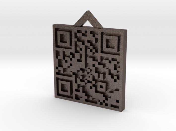 QRCode -- Happy Birthday My Love! D-Dog 3d printed