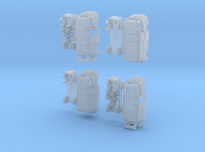 1-220 R-Estafette Fourgon SET 3d printed