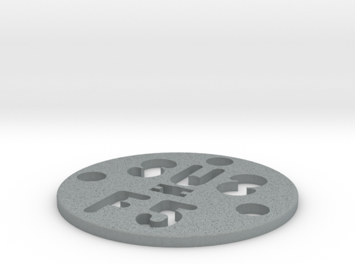 SUS Disc LowCost 2 3d printed