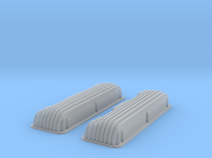 1 12 409 Finned Valve Covers File 3d printed