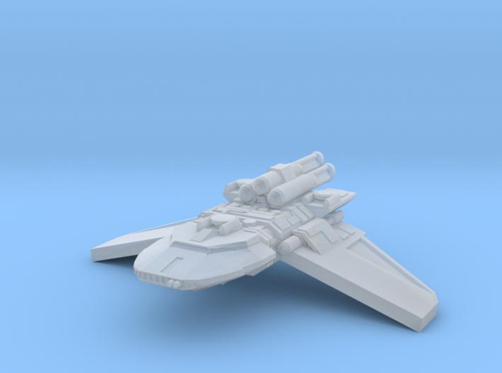 1/2256 X4 Gunship 3d printed