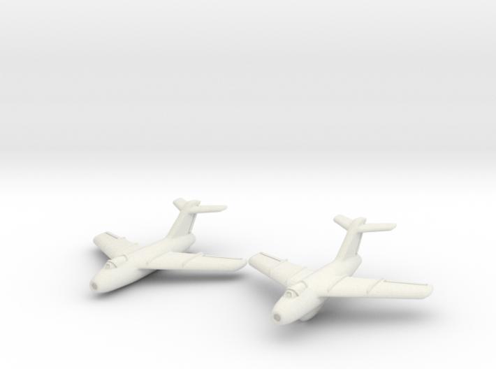 Lavochkin La-15 Fantail (2 planes set) 1/285 6mm 3d printed