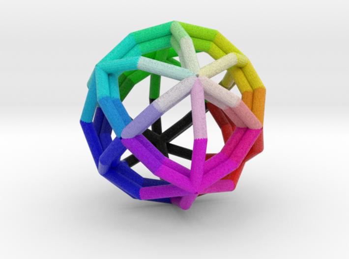 Rhombicage-r1.4-s12-o1.5-n2-dTrue-x0 3d printed