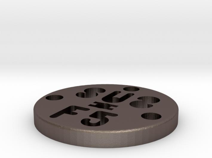SUS Disc 3mmZ 3d printed