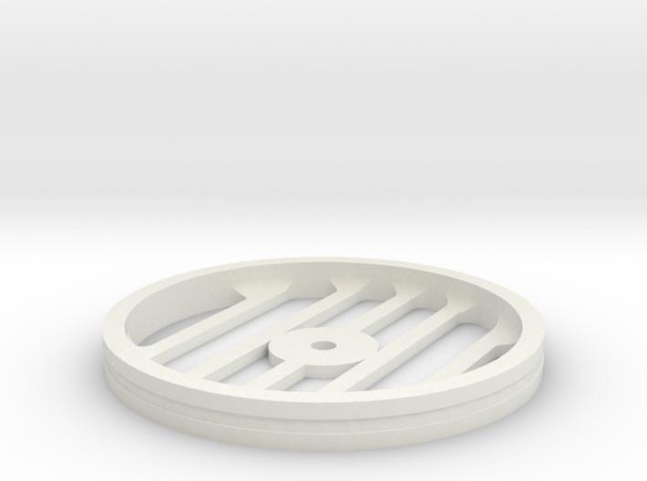 100mmFloppyBotWheel-06 3d printed