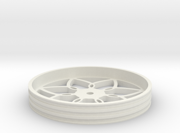 100mmFloppyBotWheel-03 3d printed