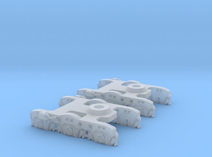 UP Water Tender Spare Trucks 2x N Scale 1:160 3d printed