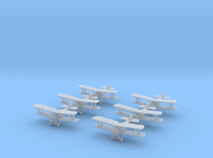 1/350 Sopwith Pup (x6) 3d printed