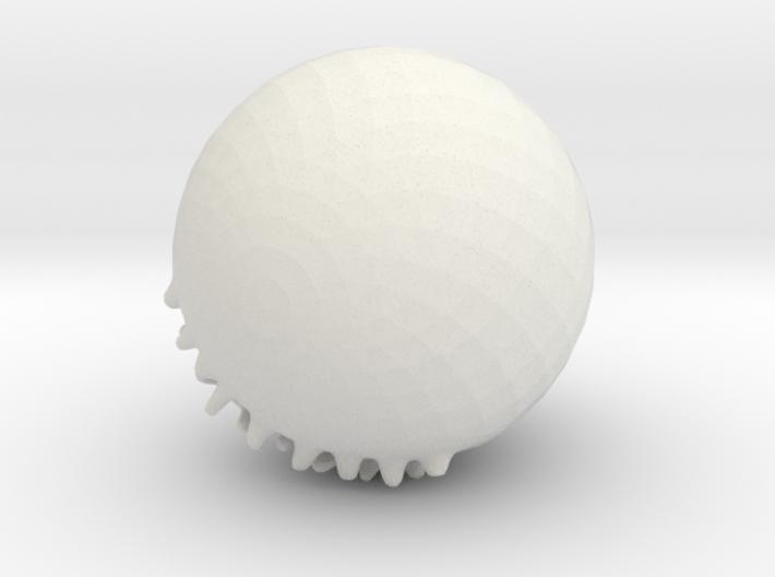 Psychopathic Gummybear Of Doom 3d printed