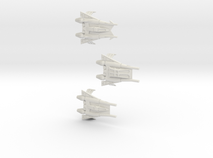 Thunder Fighter Variants 1/200 3d printed