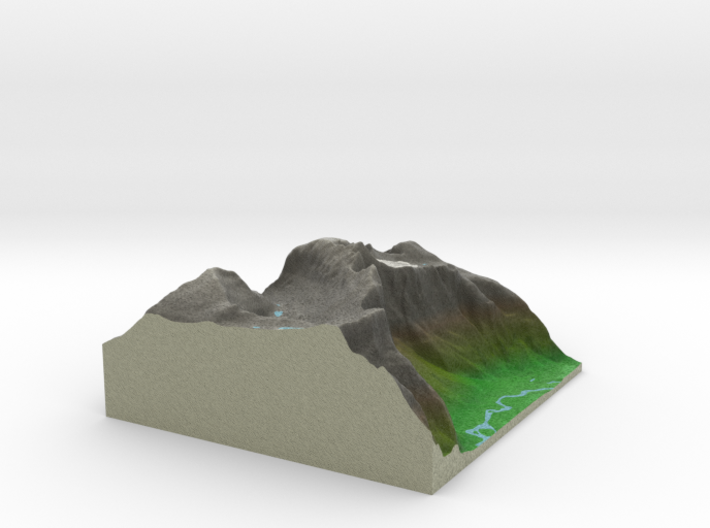 Terrafab generated model Fri Nov 01 2013 15:20:44 3d printed
