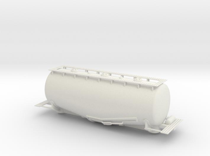 WhaleBelly Tank Car - Sscale 3d printed