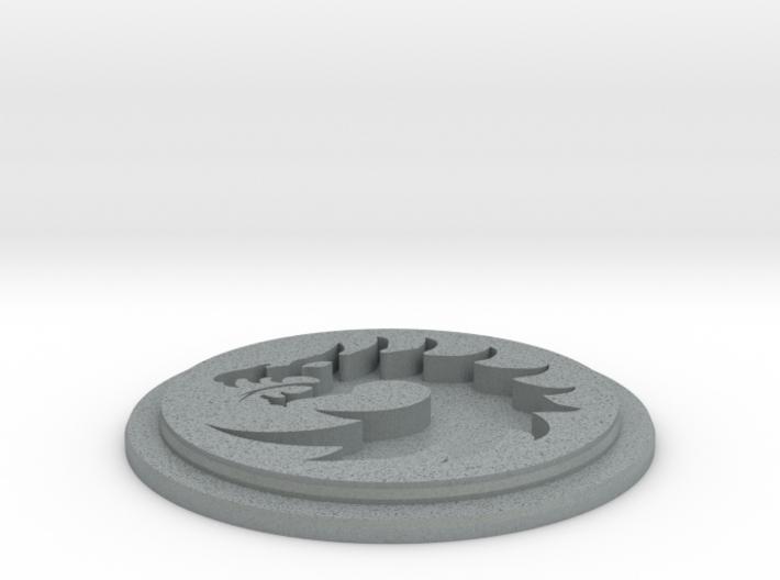 Dragon Team Disk 3d printed