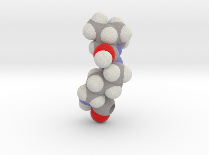 O is Pyrrolysine 3d printed