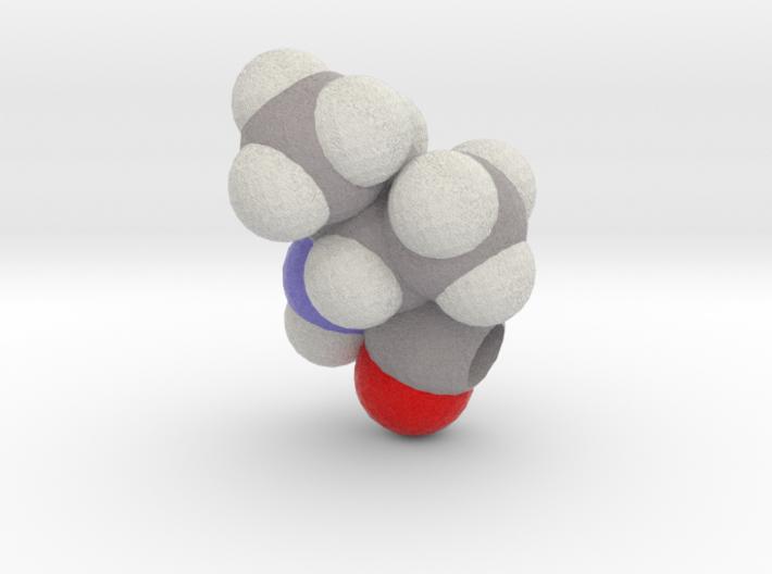 I & J are Isoleucine 3d printed