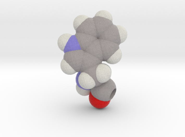 W is Tryptophan 3d printed