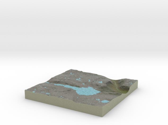 Terrafab generated model Tue Nov 05 2013 22:40:27 3d printed