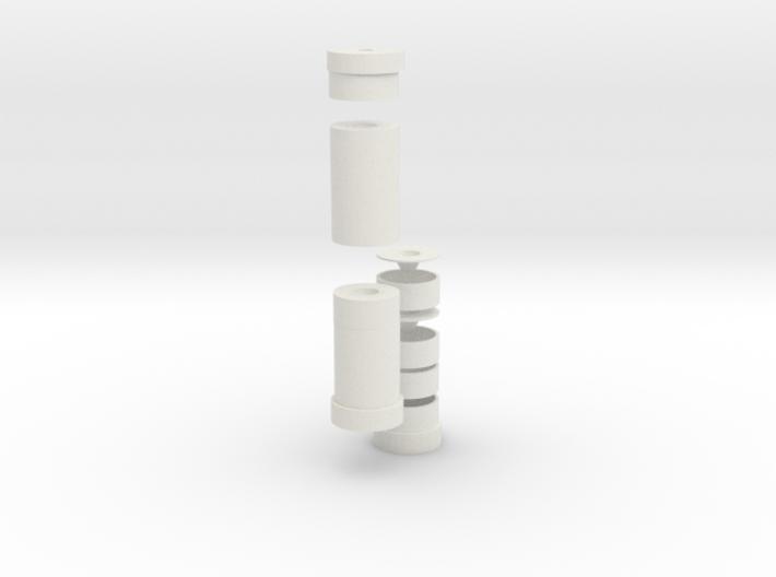 3d Suppressor 3d printed