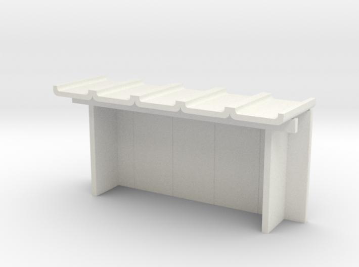 Betonfertigteil-Wartehalle TT 3d printed