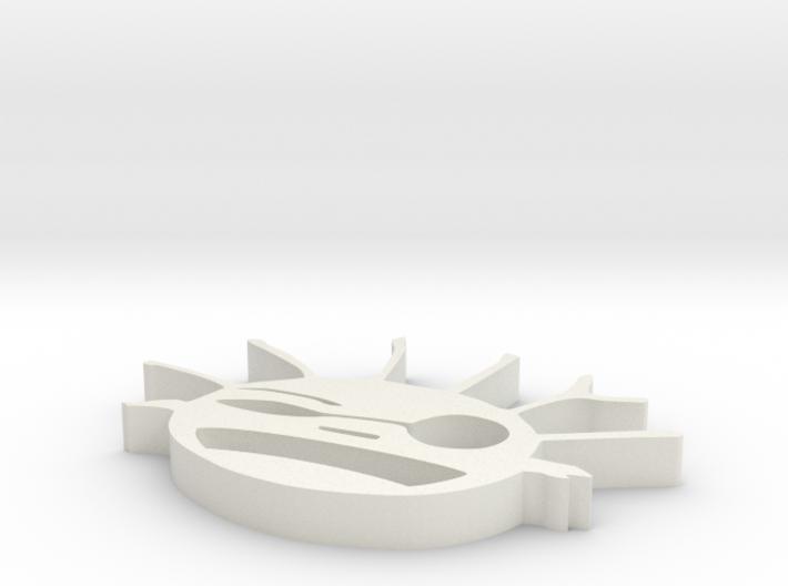 moleculeMan 3d printed