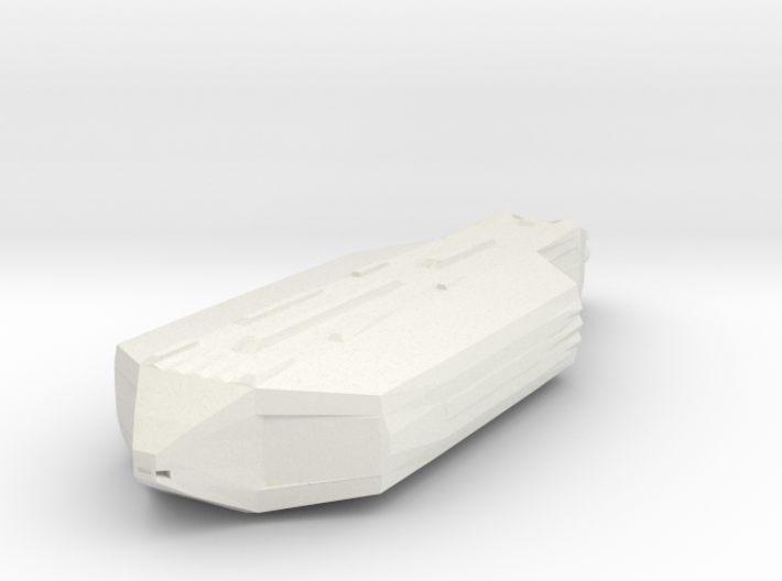Space Transport Ship Smoothed Ex Large Test 3d printed