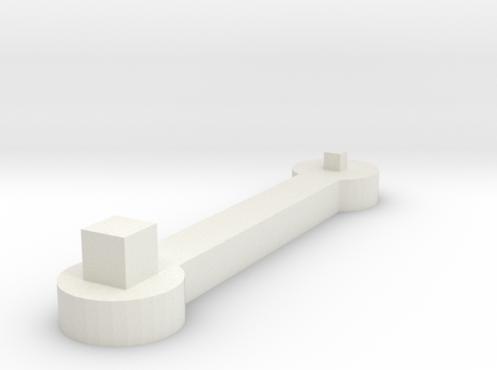 socket Wrench 3d printed