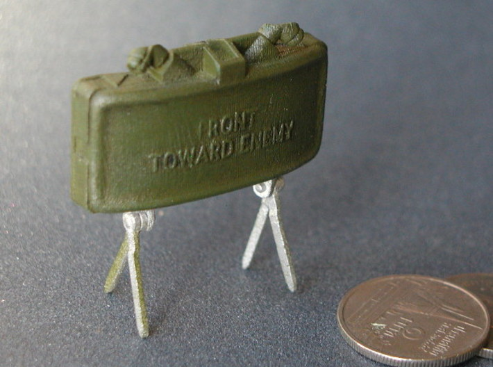 Claymore Mine 1:6 3d printed Printed and painted
