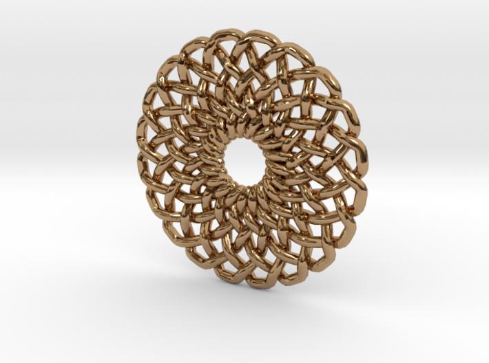 Circular Knot 3d printed