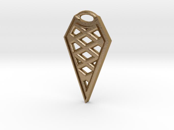Arrowhead Keychain or Necklace 3d printed