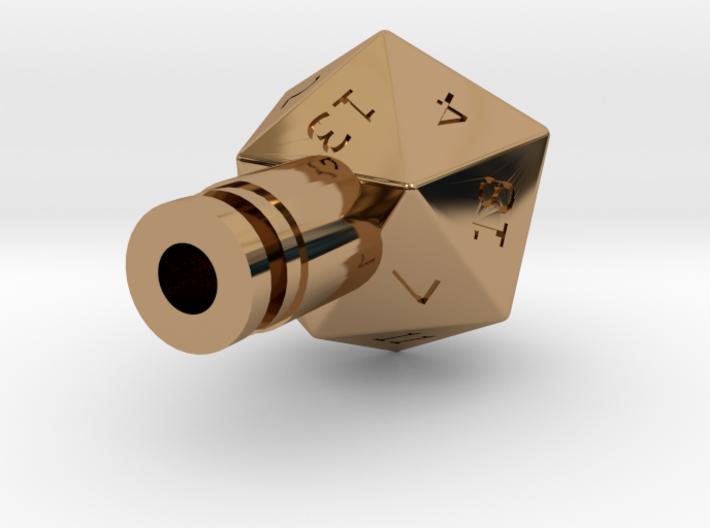 D20 Drip Tip 3d printed