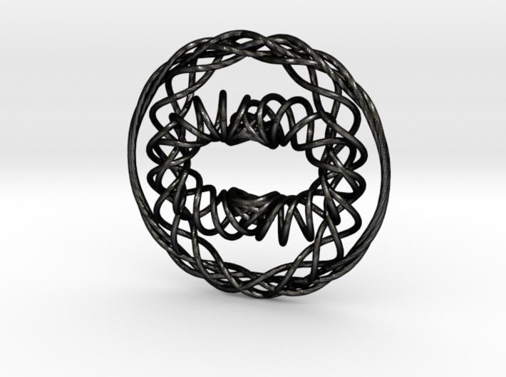 Interwoven Pendant 3d printed