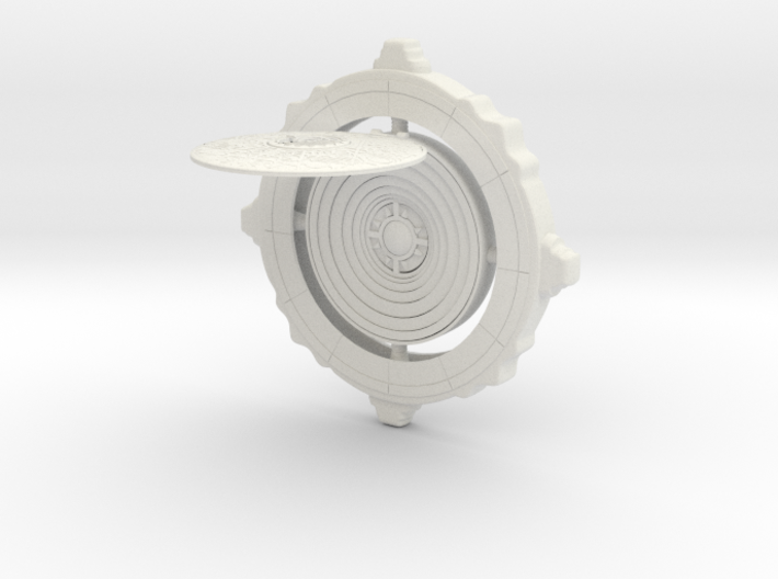 The All Seeing Eye Tomb Raider Replica 3d printed